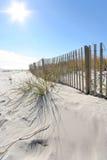Beach fence Stock Image