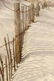 Beach fence Royalty Free Stock Photo