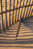 Beach fence Royalty Free Stock Photography