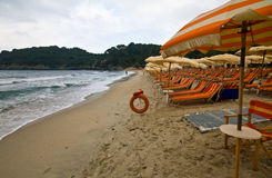 The beach of Fetovaia - Elba Stock Image