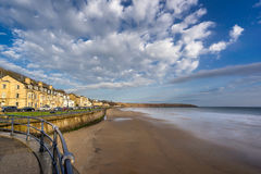 The beach in Filey in Yorkshire Royalty Free Stock Photography