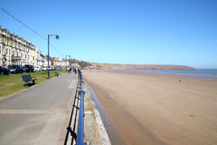 The beach, Filey, Yorkshire. Stock Photography