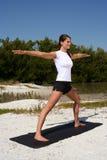 Beach Fitness royalty free stock image