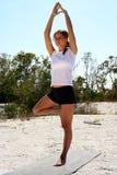 Beach Fitness Royalty Free Stock Photo