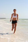 Beach Fitness Royalty Free Stock Photos