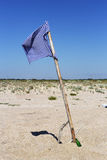 Beach flag Stock Photo