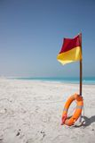 Beach flag Royalty Free Stock Images
