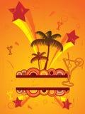 beach flier party διανυσματική απεικόνιση