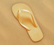 Beach flip flops Royalty Free Stock Image
