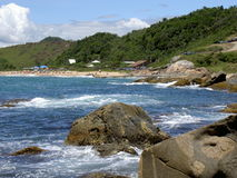 Beach in Florianopolis Brazil Stock Photography