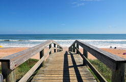 Beach in Florida Stock Photography