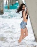 At a beach in Florida Stock Photos