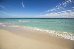 Beach in Florida, USA. Landscape in Miami Beach, FL Stock Image