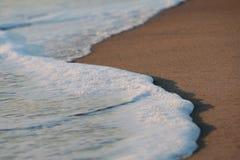 Beach foam Stock Photo