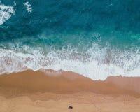 Beach, Foam, Landscape Stock Image