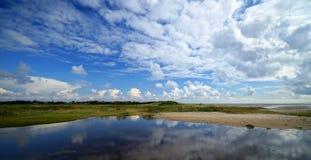 Beach on Foehr Island Stock Photography