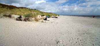 Beach on Foehr Island. Foehr or Föhr is one of the North Frisian Islands on the German North Sea coast. It is located in the federal state of Schleswig stock photos