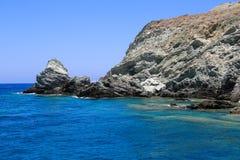 Beach Folegandros Royalty Free Stock Photography