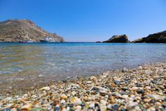 Beach Folegandros Stock Photos