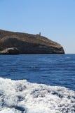 Beach of Folegandros Stock Images