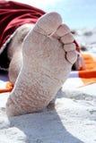 Beach Foot royalty free stock image