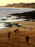 Beach football Royalty Free Stock Images