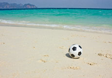 Beach Football Royalty Free Stock Photos