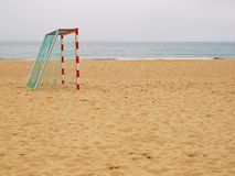 Beach Footy Royalty Free Stock Photography