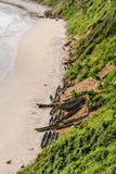 The beach of Fort Dauphin Royalty Free Stock Images