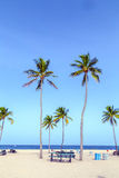 Beach in Fort Lauderdale Stock Photo