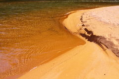 Beach fragment Stock Image