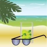 Beach, fresh, sun Stock Images