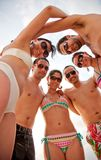 Beach friends Royalty Free Stock Photography