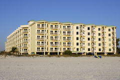 Beach Front Condo Stock Photography