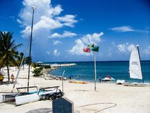 Beach front jamaica Stock Images