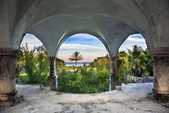Beach Front Mansion Royalty Free Stock Image
