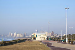 Beach Front Promenade in Durban South Africa Royalty Free Stock Images