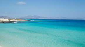 Beach in Fuerteventura, Canary Island Stock Images