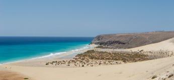 Beach in Fuerteventura, Canary Island Royalty Free Stock Image