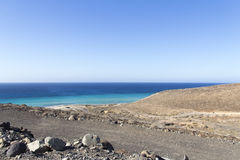 Beach in Fuerteventura royalty free stock images