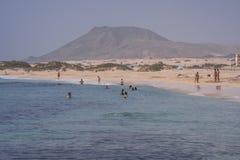 Beach of Fuerteventura Stock Images