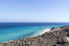 Beach in Fuerteventura Royalty Free Stock Photo