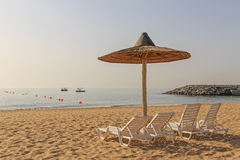 Beach in Fujairah Stock Images