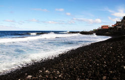 Beach full of stones Stock Photography