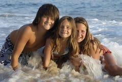Beach fun Stock Photos
