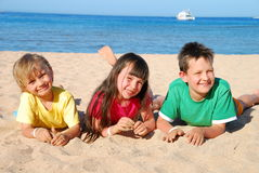 Beach Fun Royalty Free Stock Photo