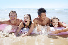 Beach fun Stock Photos