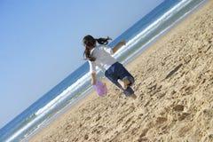 Beach fun stock photography