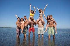 beach fun Στοκ εικόνα με δικαίωμα ελεύθερης χρήσης