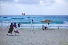 Beach Fun, Cancun, Mexico Royalty Free Stock Image